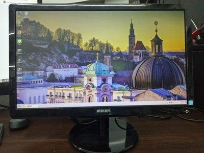 元氣本舖 22吋PHILIPS226V4L螢幕只要1100元 保3個月
