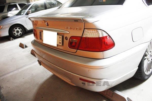 泰山美研社E163 BMW E46 2D M3 AC後下巴 國外代購