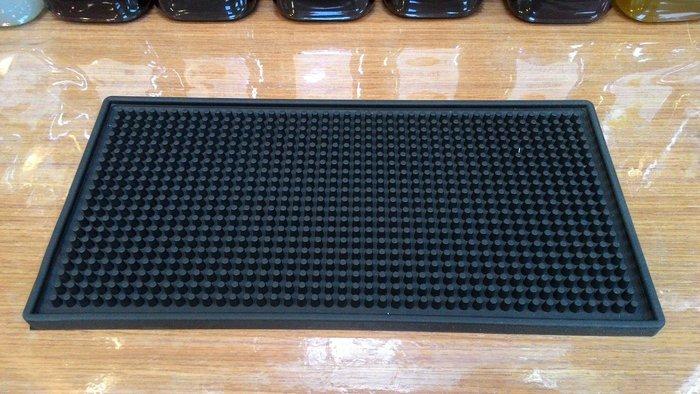 吧台專用方型防水墊 止滑墊 壓粉墊 30cm*15cm【良鎂咖啡精品館】