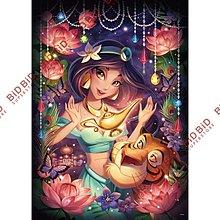 Aladdin 阿拉丁 夜光 Puzzle 砌圖 拼圖 500pcs 日本製 魔法照耀 Princess Jasmine 茉莉公主 Disney 迪士尼