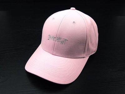 ☆二鹿帽飾☆(INHE RENT) 抗UV 休閒球帽/流行棒球帽/ 短帽簷7.5cm-台灣製-粉紅