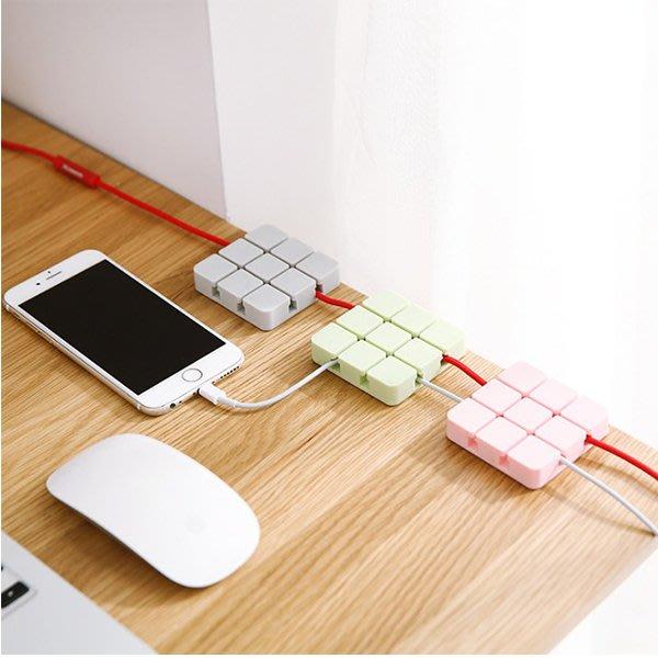 文具用品 矽膠電線固定理線器 充電線 耳機 桌面整理 上班 辦公室 臥室 書桌 電腦 USB線【PMG620】收納女王