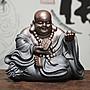 【睿智精品】陶瓷彌勒佛像 招財彌勒佛像 大...