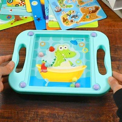 【berry_lin107營業中】平衡滾珠寶寶專注力訓練迷宮2男孩1-3歲4女孩5兒童益智力開發玩具