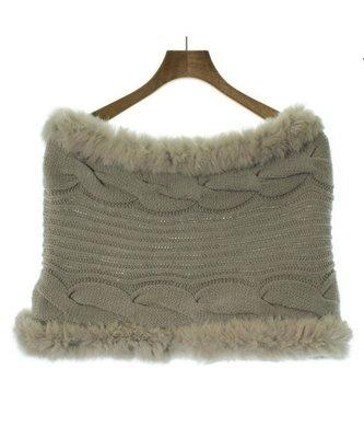 日本代購 日本 NOLLEYS 圍脖 米色 毛毛 圍巾 日本連線 質感好 兔毛 僅1條