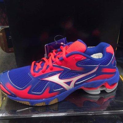 MIZUNO美津濃 女 排球鞋 室內運動鞋排羽鞋 WAVE BOLT 5 V1GC166005 紫粉 現貨