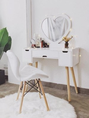 梳妝臺臥室化妝桌簡約式化妝櫃小戶型迷你網紅風化妝臺經濟型SP568