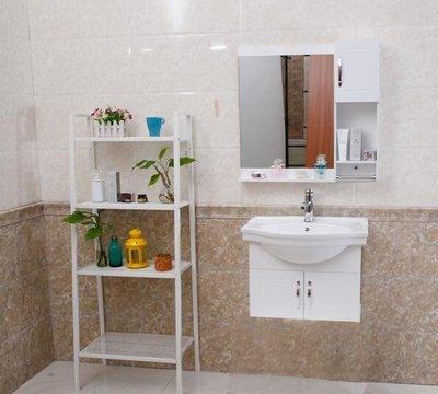 簡約浴室櫃組合小戶型洗手盆吊櫃衛生間陶...