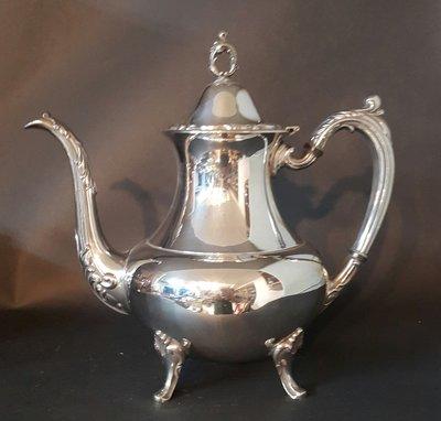 411高級英國鍍銀壺 Vintage Silverplate Ornate (27公分,10.5吋高)