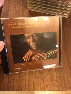 9.9新 大衛紐曼 David Fathead Newman-I remember brother ray 光碟無刮痕 個人收藏 CD