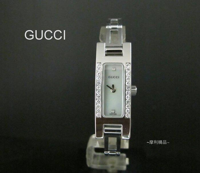 【摩利精品】GUCCI 3900L鑽石女錶 *真品* 低價特賣
