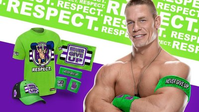 ☆阿Su倉庫☆WWE摔角 John Cena Cenation Respect T-Shirt Cena國度尊敬時刻新款