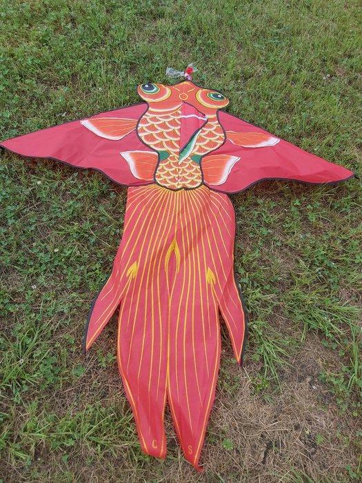 [翔飛戶外休閒] 漂亮金魚鯉魚造型風箏- -超好飛-尼龍布風箏 [直購下標區]