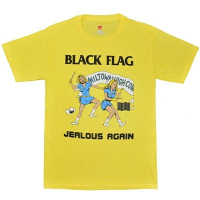 【小阿哥】BLACK FLAG Jealous Again /T-SHIRT/短T/復古/流行