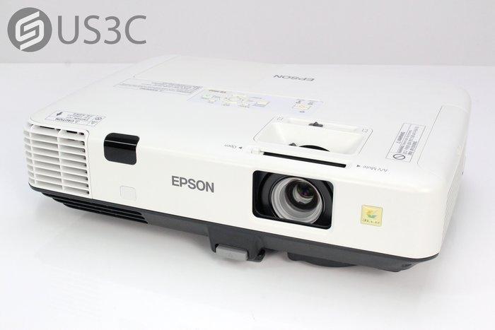 【US3C-小南門店】EPSON EB-1960 商務XGA液晶投影機 5000流明 3000:1 內建喇叭 1080P