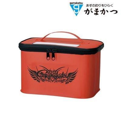 源豐網路釣具 - GAMAKATSU 短筒釘鞋收納袋(紅) GM-2054