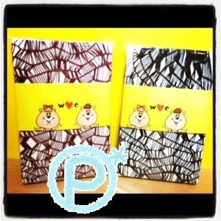 日本若槻千夏自創品牌 W♥C 羅塞爾 風格 網襪:內搭 長 褲襪 歐美 rock 萬聖節 wc 熊【Ⓟⓘ*】