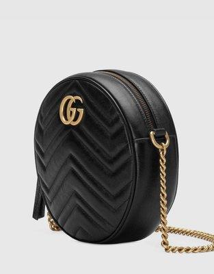 **Ohya精品代購** 2018 全新代購 Gucci 古馳GG Marmont mini round 550154