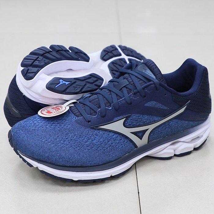 * 世偉體育 *MIZUNO J1GC190404 WAVE RIDER 23 SW  超寬楦 男款慢跑鞋