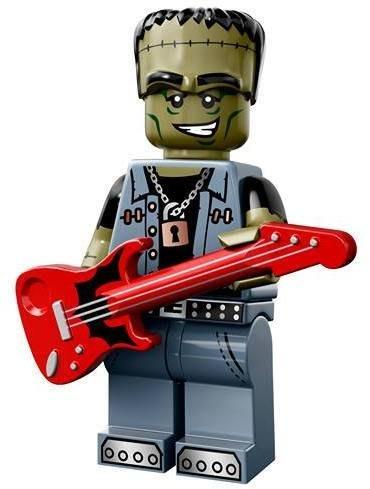現貨【LEGO 樂高】益智玩具 積木/ Minifigures人偶系列: 14代人偶包抽抽樂 71010   怪物搖滾手