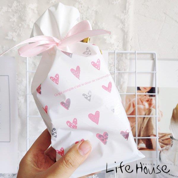 粉彩愛心束口袋 小款 糖果袋 禮品袋 禮物袋 包裝袋 站立袋 抽繩袋 婚禮小物包裝袋 禮物包裝袋 烘培包裝袋