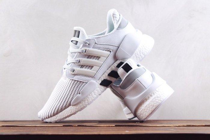 Adidas EQT Support 91/18 白黑 編織 透氣 慢跑休閒鞋 男鞋BD7792