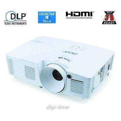 【全新含稅附發票】ACER X115H 投影機 (20,000:1高對比 3300流明 具備HDMI 3D 家庭娛樂佳)