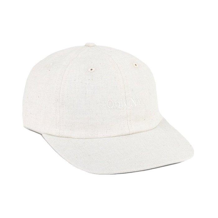 { POISON } ONLY NY LODGE HEMP POLO  HAT 素雅日本麻質面料老帽棒球帽 美國製 米麻