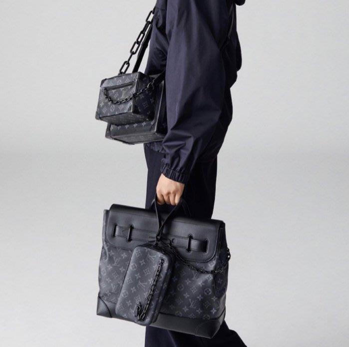 Louis Vuitton M44735 Soft Trunk 巴黎時裝周上最具話題性的亮點 黑老花