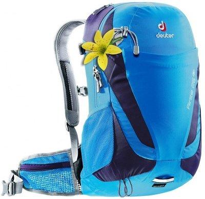 【大山野營】送手電筒 德國 Deuter 4420415 Airlite 26SL 藍/紫 網架透氣背包 登山背包 健行