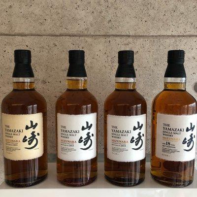 Yamasaki Mizunara Collection- 2011, 2013, 2014, 2017 vintages 日本山崎水楢桶系列