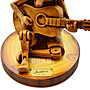 Musician Designer 皮諾丘 小木偶 木製 吉他 彈奏 木雕 禮品 送禮 義大利製 【茗詮樂器】