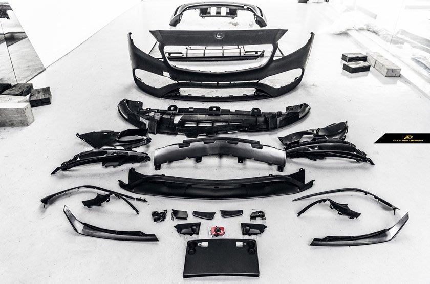 CS車宮車業 BENZ W176 2017 新款 A180 A200 A250 A45 AMG 全車空力 套件 大包圍