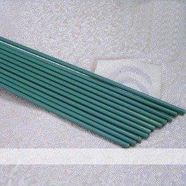 【B120粗包塑鐵線】直徑3.5mm長120cm x8根 園藝支柱 花支架-5101002