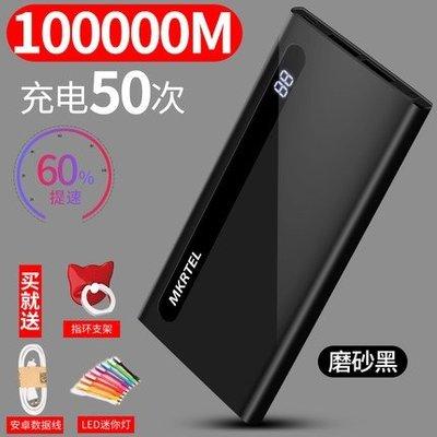 大容量行動電源20000毫安 蘋果vivo華為oppo手機小米通用快充6s卡通plus超薄7便攜行充