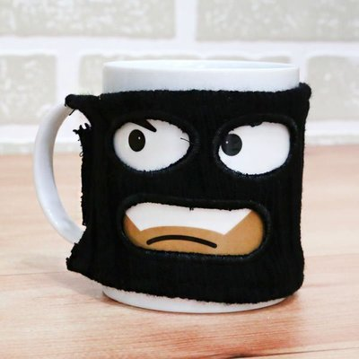 咖啡杯  thumbs Up 創意馬克杯 防熱( 小偷馬克杯 ) 忍者 Mugga Mug iHOME愛雜貨