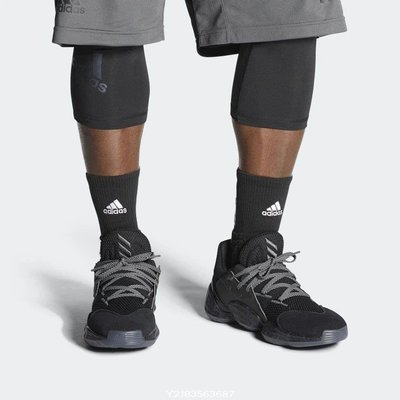 2020 1月 ADIDAS HARDEN VOL. 4 GCA CNY  黑色 哈登 籃球 FV5572 黑魂 休閒慢跑鞋