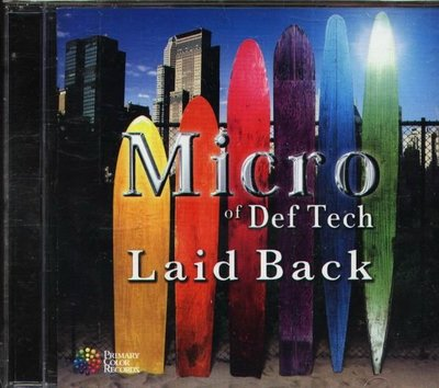 (甲上) Micro of Def Tech - Laid Back - 日版
