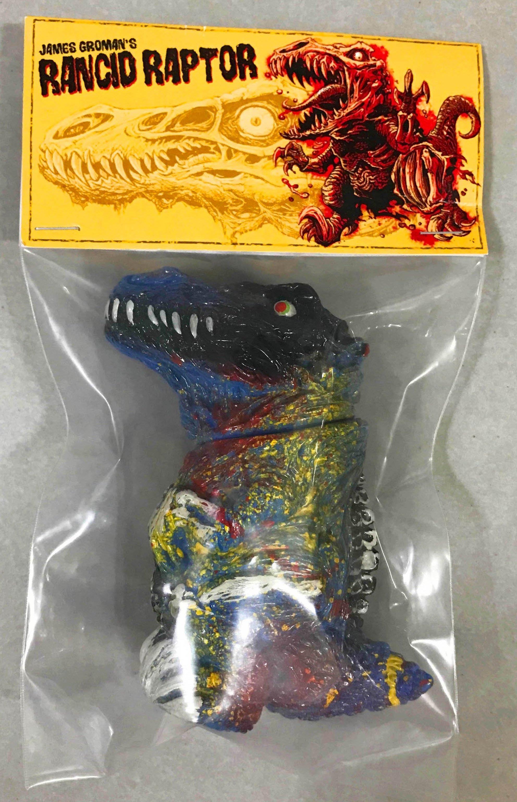 全新 JAMES GROMANS RANCID RAPTOR 3.5 小恐龍 大膠