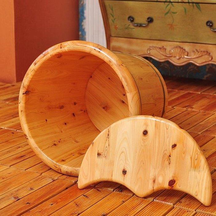 泡腳桶 準者泡腳木桶加高加蓋洗腳木桶足浴桶洗腳盆洗腳桶洗腳盆木盆木質YS