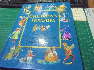 the children's treasury fairy tales,nursery rhymes &nonsense
