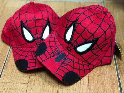 ✿朵朵童包✿ 復仇者聯盟 蜘蛛人 刺繡 兒童帽子 棒球帽 鴨舌帽 遮陽帽 紅色
