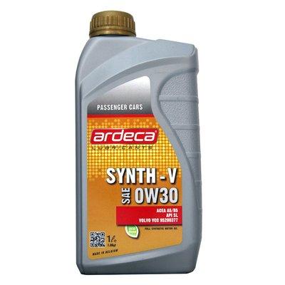 【易油網】ARDECA 0W30 SYNTH-V 0W-30 全合成機油MOBIL SHELL REPSOL