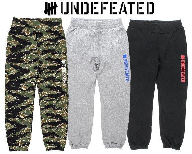 【超搶手】全新正品2016最新UNDEFEATED UNIVERSITY SWEATPANT束腳縮口棉褲S M L XL