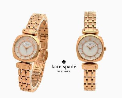 Kate Spade New York►MINI BARROW (玫瑰金色×白色) 手錶 腕錶 |100%全新正品|特價