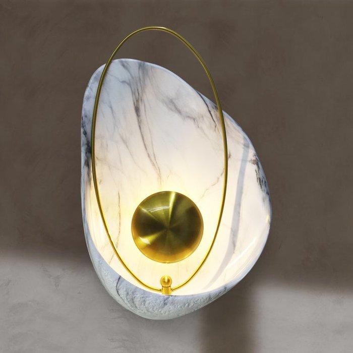 【58街】「貝殼壁燈」北歐極致典雅品味/燈具/美術燈。複刻版。GK-425