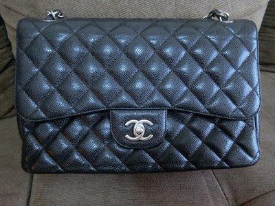 香奈兒 銀鍊 Chanel coco jumbo 30