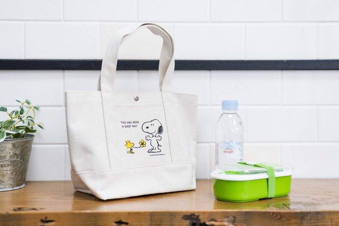☆Juicy☆日本雜誌附錄 PEANUTS SNOOPY 史奴比 帆布 托特包 便當袋 手拎包 購物袋 環保包 2409