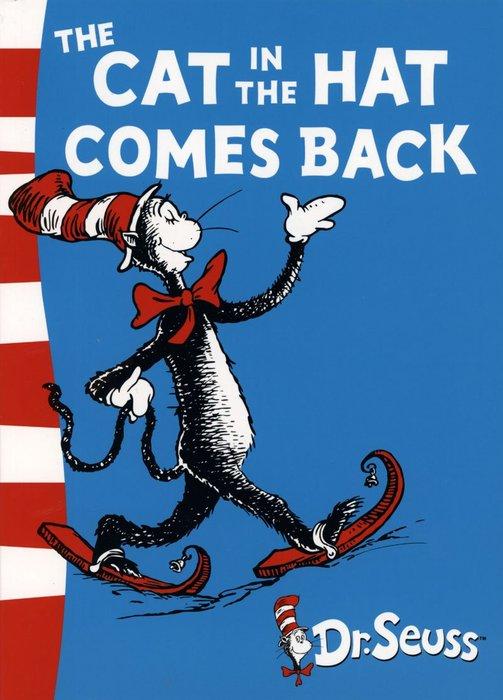 *小貝比的家*THE CAT IN THE HAT COMES BACK /綠底中階/平裝/3~6歲