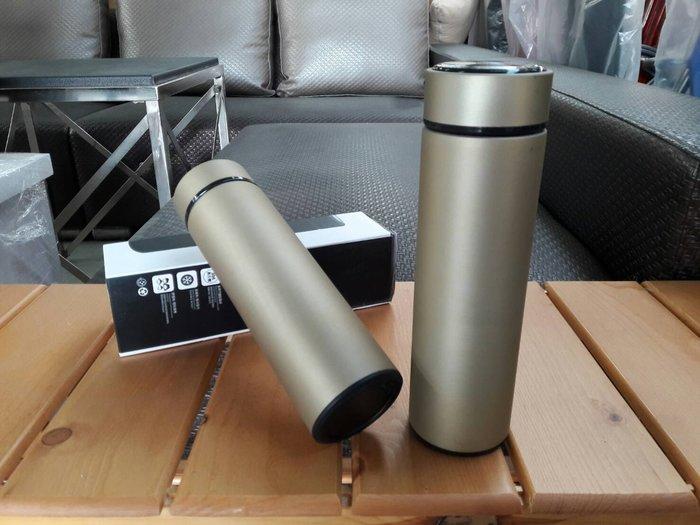 大台南冠均二手貨--全新 不鏽鋼 500ml 真空保溫杯 保溫壺 保冷瓶 商務杯 外出隨身杯 附濾網 物超所值~售完為止